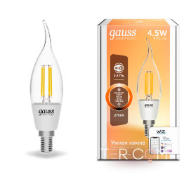 Gauss Smart Home DIM E14 CF35 4,5 Вт